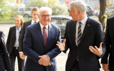 Bundespräsident Steinmeier bei der Handwerkskammer Berlin