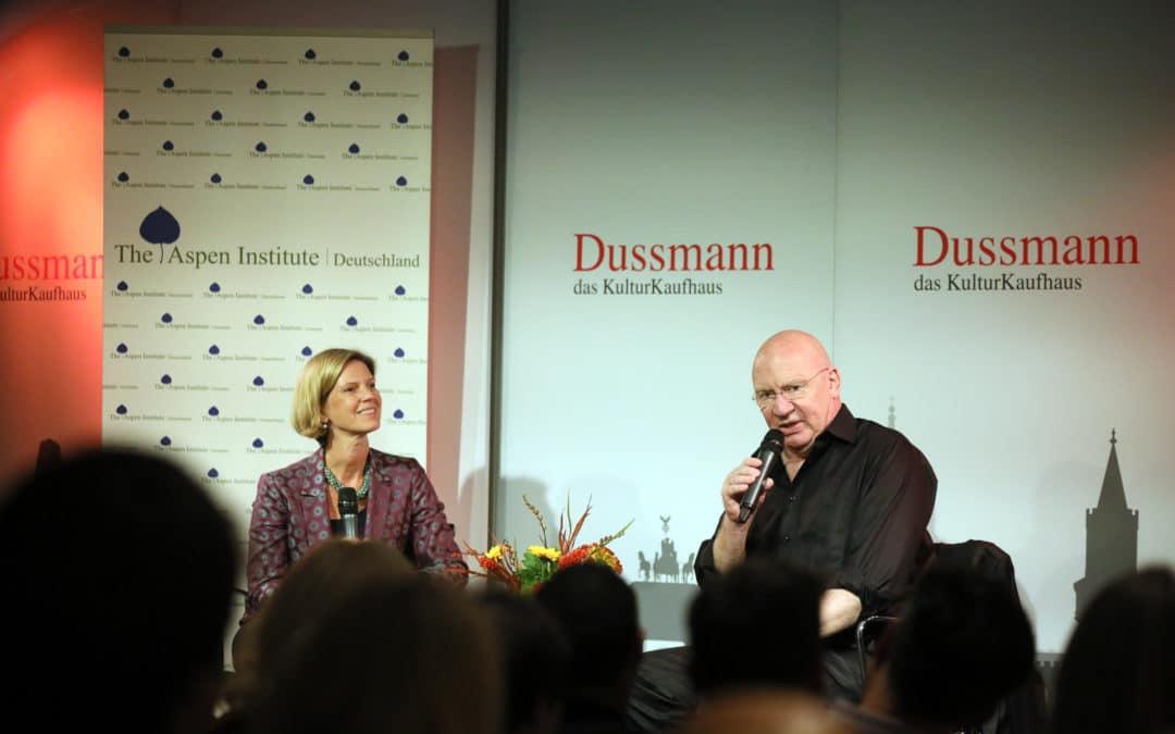 Buchvorstellung bei Dussmann