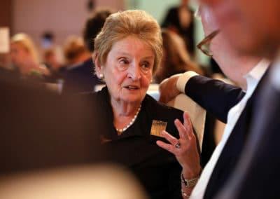 Madeleine K. Albright, US-Außenministerin a.D.