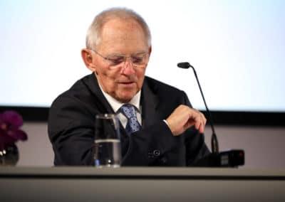 Dr. Wolfgang Schäuble, Präsident des Deutscher Bundestag