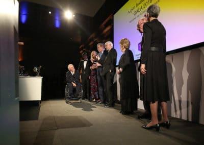 Preisträger bei der Verleihung des Shepard Stone Award