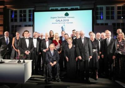 Gruppenfoto mit den Preisträgern des Shepard Stone Award sowie den Laudatoren