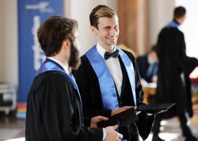 Absolventen der Berlin International University of Applied Sciences