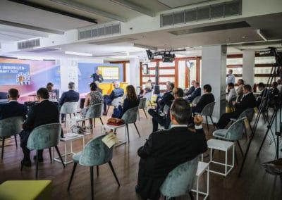 Plenum beim Tag der Immobilienwirtschaft im ZIA Hauptstadtstudio