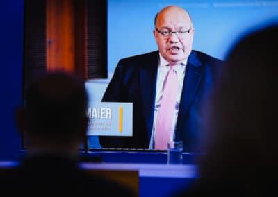interaktives Grußwort des Bundesministers für Wirtschaft, Peter Altmaier