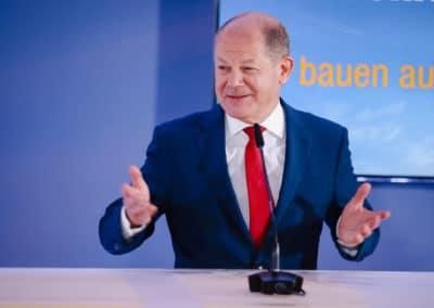 Vizekanzler und Bundesminister für Finanzen, Olaf Scholz