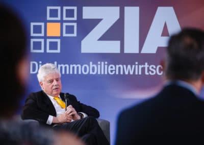 Dr. Andreas Mattner beim Tag der Immobilienwirtschaft 2020