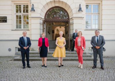 Gruppenbild Frau Dr. Franziska Giffey, Julia Klöckner, Manuela Schwesig