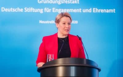 Gründungsfestakt der Engagementstiftung in Neustrelitz