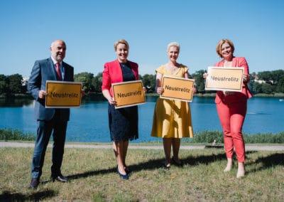 Gruppenbild Frau Dr. Franziska Giffey, Julia Klöckner, Manuela Schwesig,