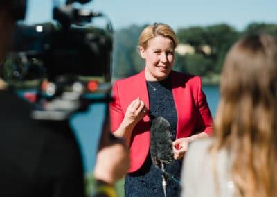 Bundesministerin für Familie, Senioren, Frauen und Jugend, Dr. Franziska Giffey im Interview