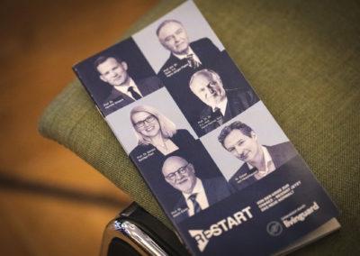 Flyer RESTART Kongress Berlin
