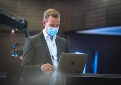 Virologe Hendrik Streeck - RESTARTNOW21 Kongress