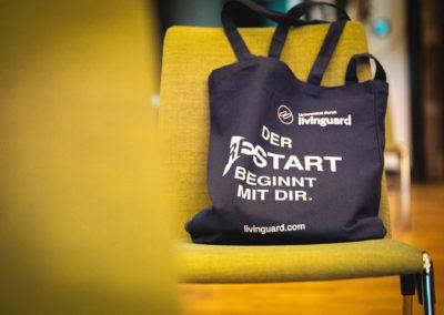livinguard Kongress - RESTART in Berlin Tasche