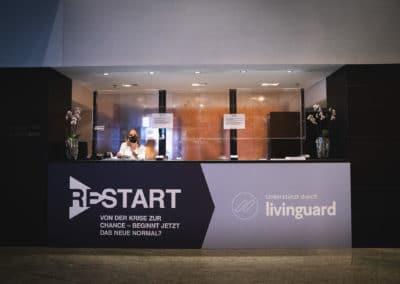 RESTART Branding im Hyatt Hotel Berlin